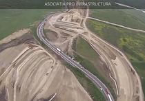Autostrada A10 Sebes - Turda, lotul 4 in constructie - mai 2015