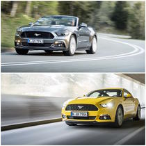 Ford Mustang Convertible si Ford Mustang Fastaback