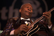 BB King in 2009