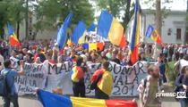 Mars unionist la Chisinau
