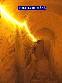 Tunel de 40 m sapat pentru braconaj
