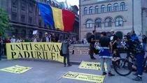 Protest Uniti salvam padurile