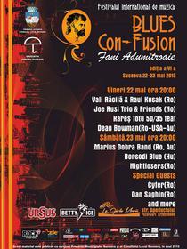 Festivalul BLUES CON-FUSION, editia a VI-a