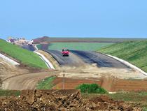 Lucrari pe autostrada A1 Timisoara - Lugoj