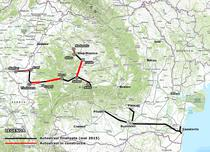 Autostrazi aflate in constructie - mai 2015