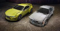 BMW 3.0 CSL Hommage si BMW 3.0 CSL din '70