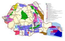 Harta perimetre de explorare si exploatare petroliera