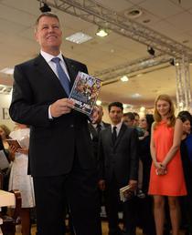 Lansarea cartii lui Klaus Iohannis