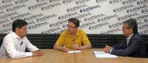 dr. Nicolae Marcu si dr. Dorel Sandesc in dialog cu Vlad Mixich