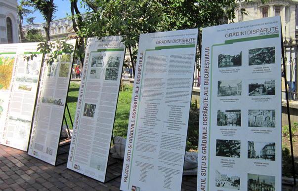 """Expozitia """"Palatul Sutu si Gradinile Disparute ale Bucurestiului"""" (3)"""