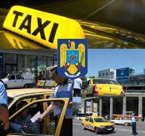Politistii au verificat taxiurile din zona aeroporturilor