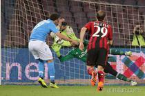 AC Milan, infrangere categorica la Napoli