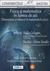 Fizica si matematica in lumea de azi