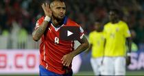 Vidal, gol pentru Chile