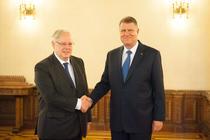 Klaus Iohannis l-a primit la Cotroceni pe presedintele CEDO, Dean Spielmann