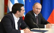 Vladimir Putin si Alexis Tsipras
