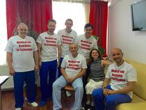 Medicul Catalin Cirstoiu, Cristina van Bonzel si medici de la Spitalul Universitar de Urgenta Bucuresti