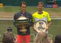 Roger Federer, inca un titlu la Halle