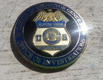 Insigna ofiter american anticoruptie in sanatate