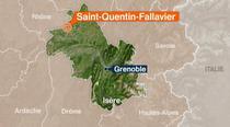 Locul atentatului din Franta