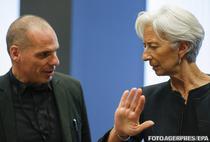 Yanis Varoufakis si Christine Lagarde