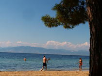 Plajă în Thassos
