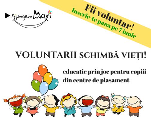 Apel la voluntariat