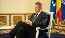 Klaus Iohannis, interviu la TVR 1