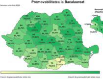 Promovabilitate BAC judete 2015