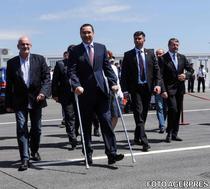 Victor Ponta, la inaugurarea PTF Nadlac II - Csanadpalota