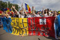 Mars pentru unirea Romaniei cu Moldova