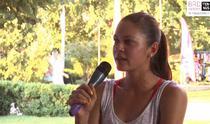 Andreea Mitu la BRD Tennis Insider