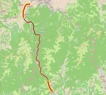 Capetele autostrazii Comarnic - Brasov
