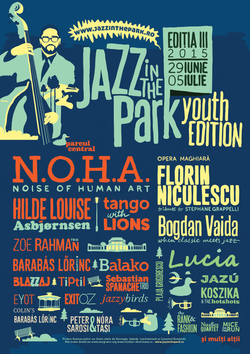 Jazz in the park 2015