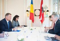 Klaus Iohannis s-a intalnit cu Heinz Fischer