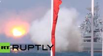 O racheta o ia razna la ziua marinei ruse