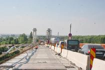 Lucrari la Podul Giurgiu - Ruse