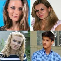 Ioana Surpateanu, Ioana Rus, Georgiana Draghici si Mihnea Nastase