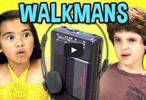 Cum reactioneaza copiii cand vad un walkman
