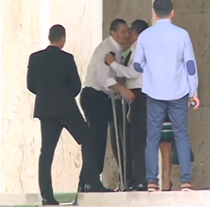 Victor Ponta dupa operatie