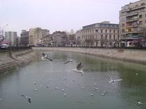 Pe Dambovita, Bucuresti, Romania