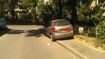 Parcare pe trotuar 2