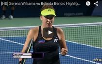 Bencic o invinge pe Serena
