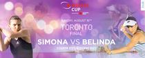 Simona Halep vs Belinda Bencic