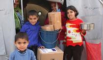 Ajutoare umanitare (Foto: Caroline Gluck EU, ECHO)