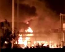 O noua explozie s-a produs la o uzina chimica din China