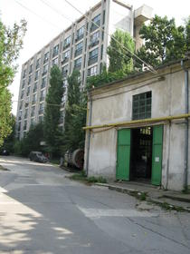 Una dintre cladirile Institutului Cantacuzino