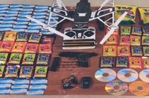 Contrabanda folosind o drona in statul american Maryland