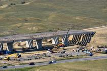 Autostrada Sebes - Turda, in constructie (august 2015)