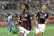 Luiz Adriano, gol pentru AC Milan